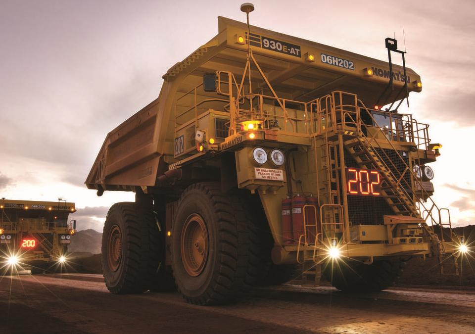 Dumper -ore logistics simulation model